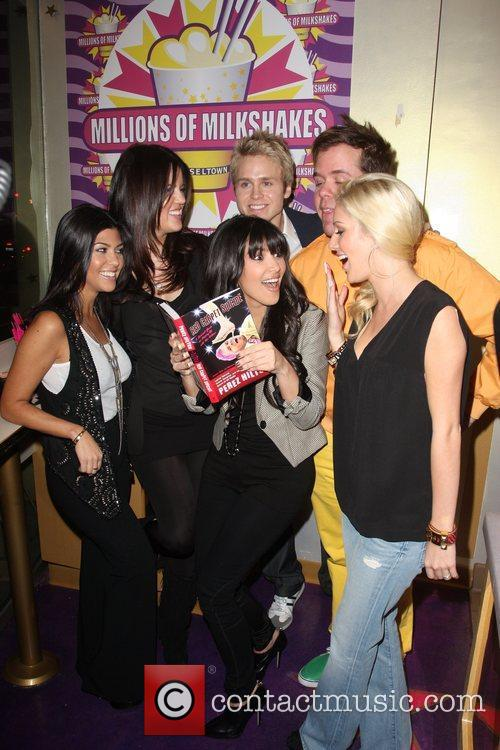 Kourtney Kardashian, Kim Kardashian, Perez Hilton and Spencer Pratt 4