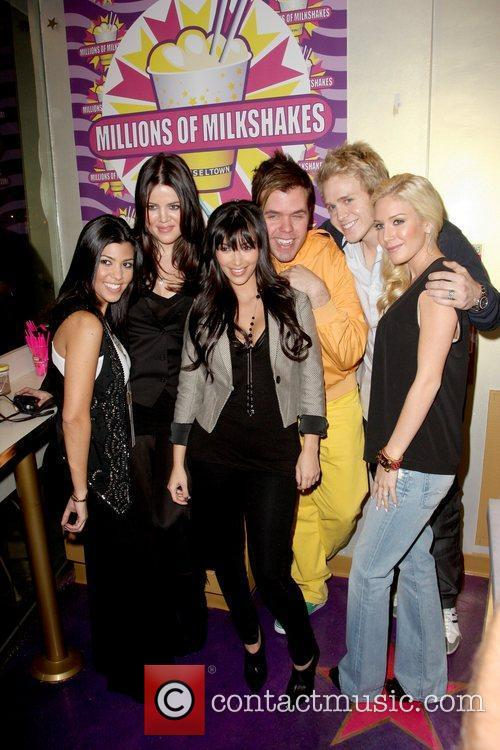 Kourtney Kardashian, Kim Kardashian, Perez Hilton and Spencer Pratt 8