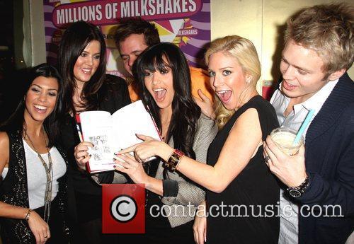 Kourtney Kardashian, Heidi Montag, Kim Kardashian and Perez Hilton 6