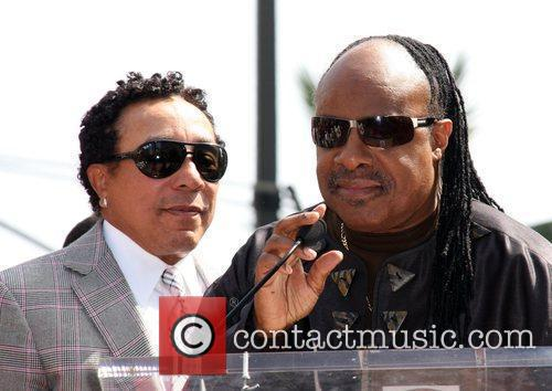 Smokey Robinson, Stevie Wonder, Star On The Hollywood Walk Of Fame and Walk Of Fame 4