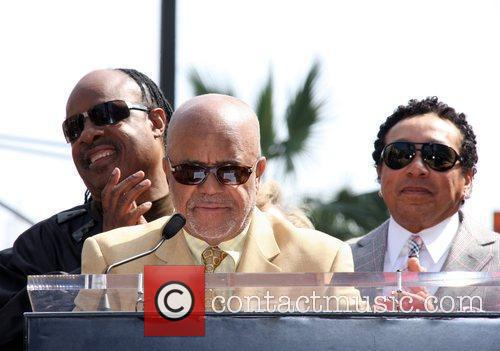 Stevie Wonder, Berry Gordy, Star On The Hollywood Walk Of Fame and Walk Of Fame 8