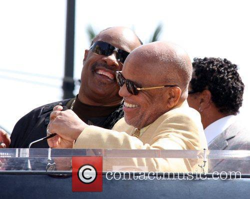 Stevie Wonder, Berry Gordy, Star On The Hollywood Walk Of Fame and Walk Of Fame 7