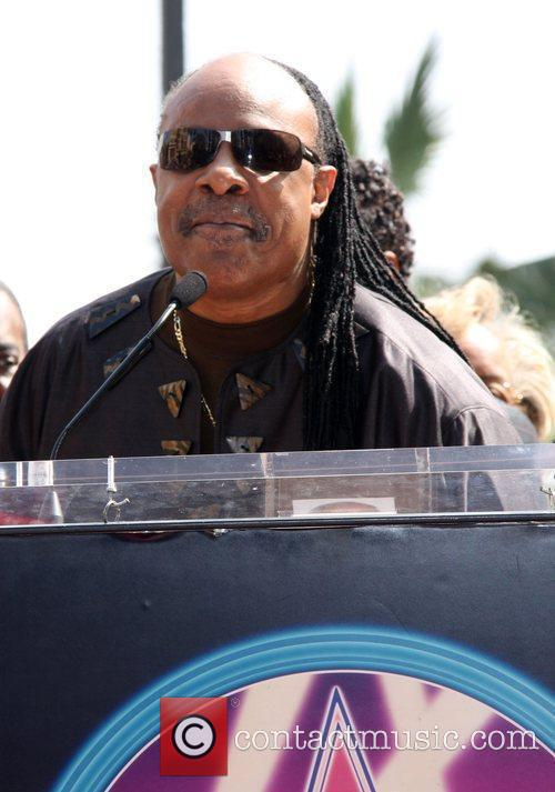 Stevie Wonder, Star On The Hollywood Walk Of Fame and Walk Of Fame 3