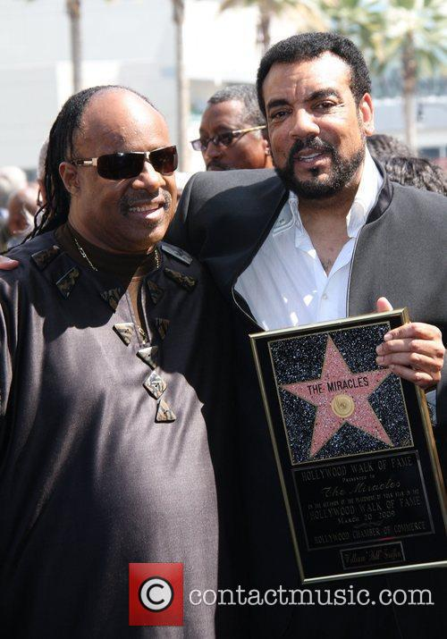 Stevie Wonder, Star On The Hollywood Walk Of Fame and Walk Of Fame 4