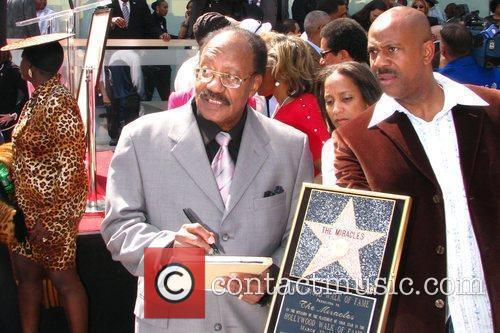 Bobby Rogers Motown Band 'The Miracles' receive the...