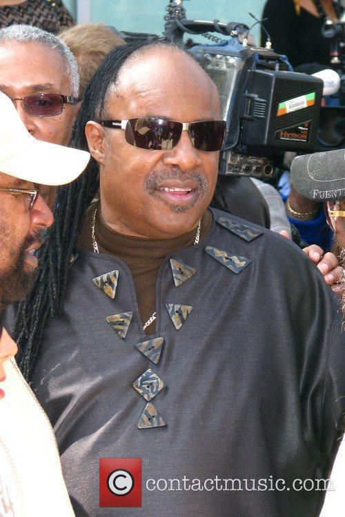 Stevie Wonder, Star On The Hollywood Walk Of Fame and Walk Of Fame 18