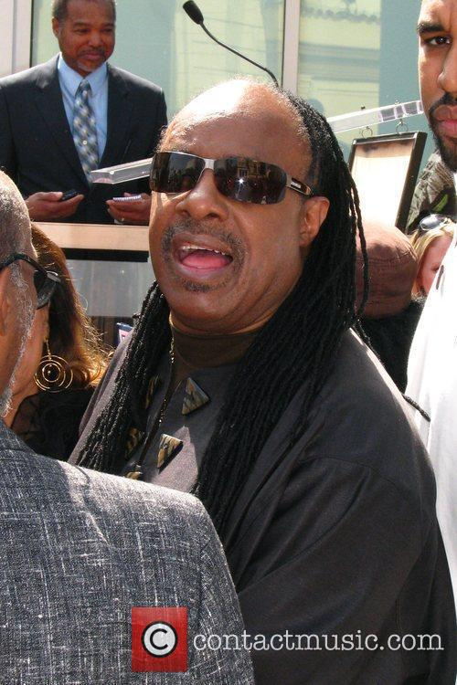 Stevie Wonder, Star On The Hollywood Walk Of Fame and Walk Of Fame 17