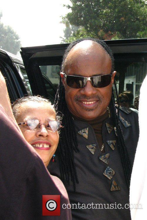 Stevie Wonder, Star On The Hollywood Walk Of Fame and Walk Of Fame 13