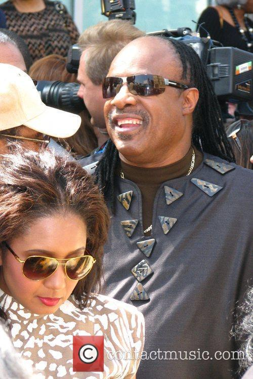 Stevie Wonder, Star On The Hollywood Walk Of Fame and Walk Of Fame 15