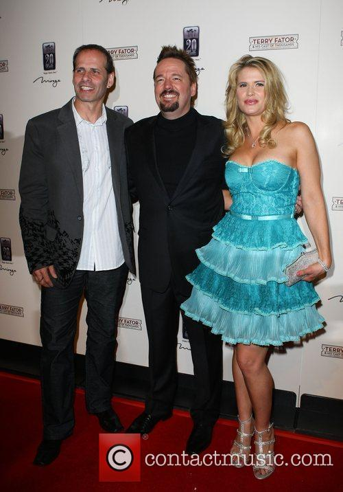 Lloyd Eisler, Terry Fator and Kristy Swanson