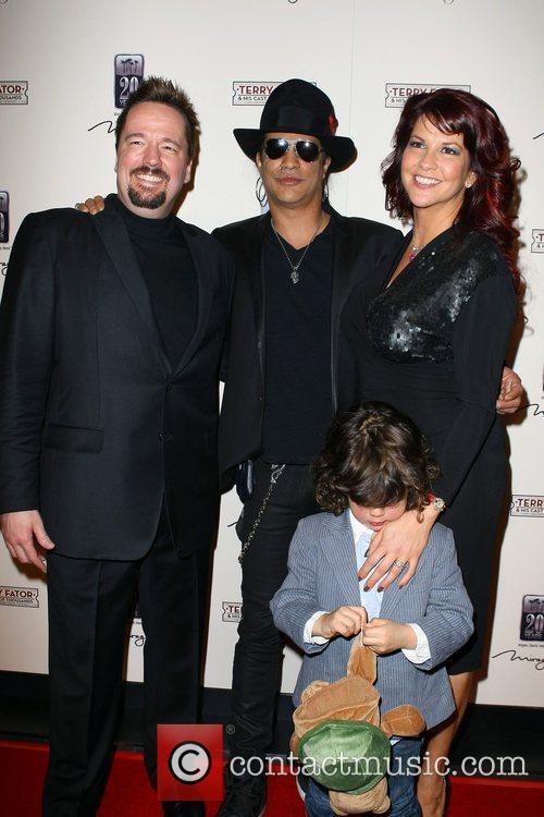 Terry Fator, Slash, Perla Ferrar The Opening of...