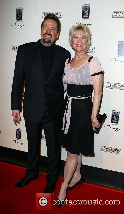Terry Fator, Dee Wallace The Opening of Terry...