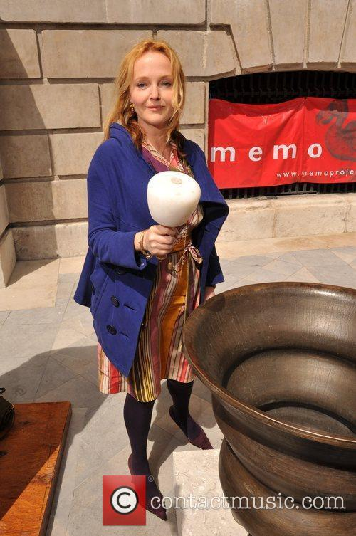 Miranda Richardson rings out the bells at St....