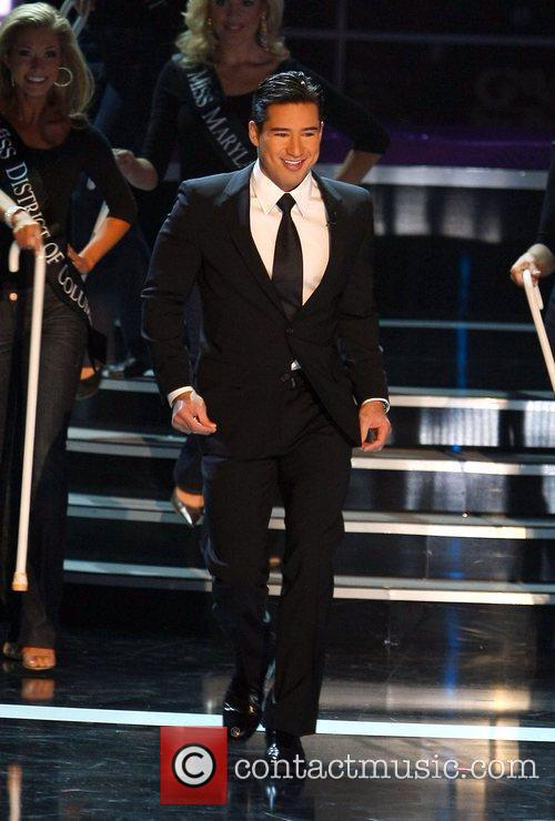 Mario Lopez The 2009 Miss America Pageant Las...