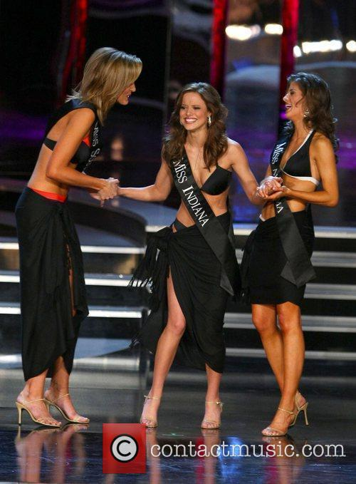 Miss Indiana Katie Stam is crowned Miss America...