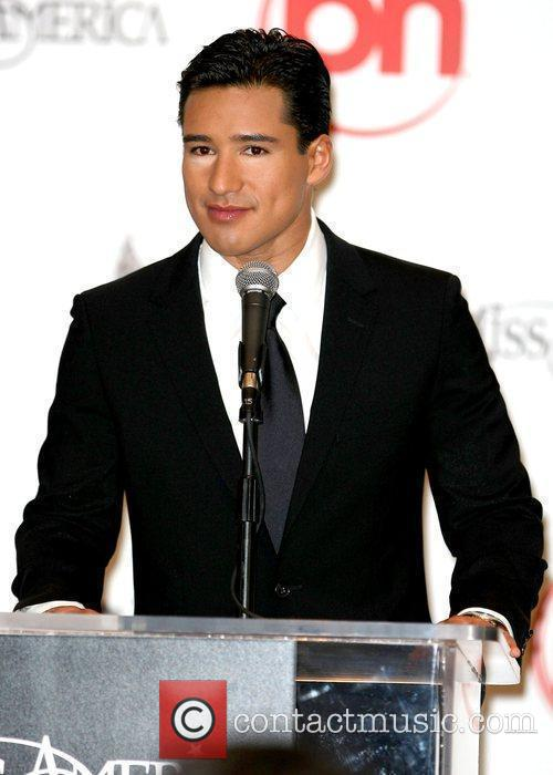 Mario Lopez Press Conference for the 2009 Miss...