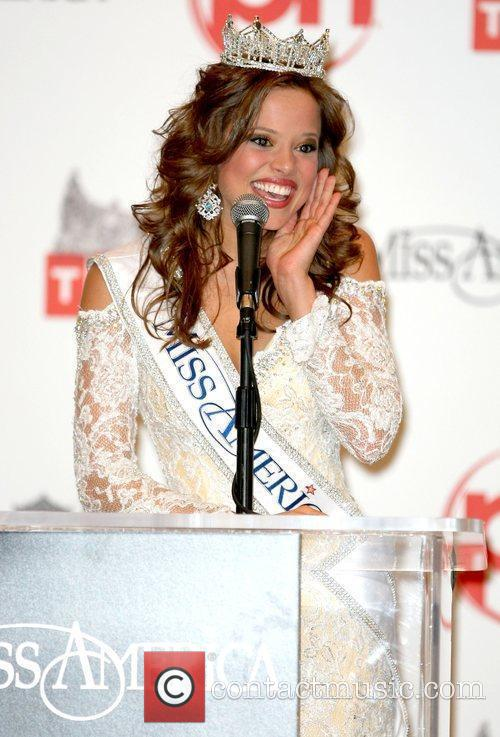 Press Conference for the 2009 Miss America Pageant