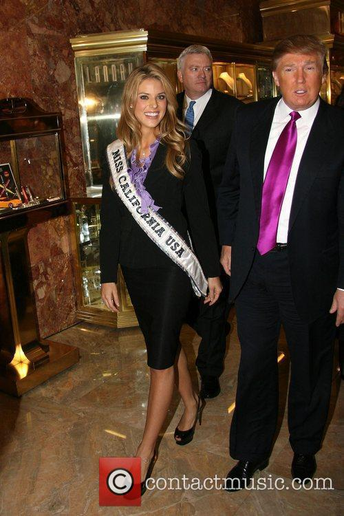 Donald Trump, Miss California