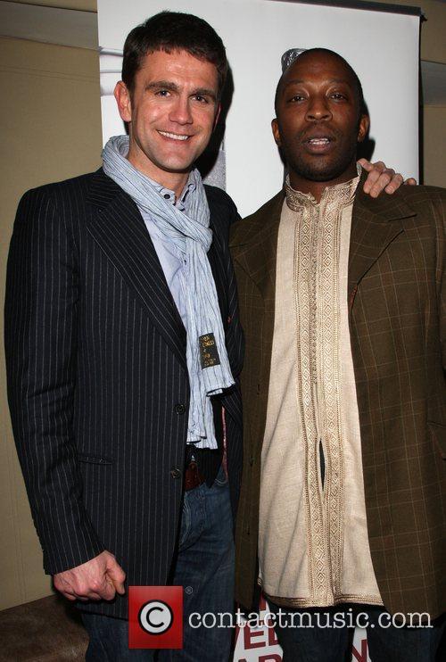Scott Maslen and Joseph Kpobie MOB Management client...