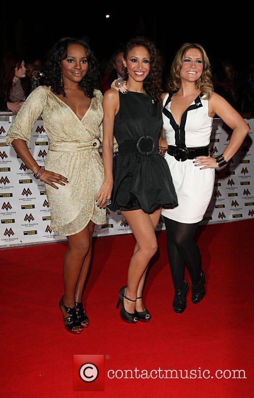 Keisha Buchannan, Amelle Berrabah and Heidi range from...