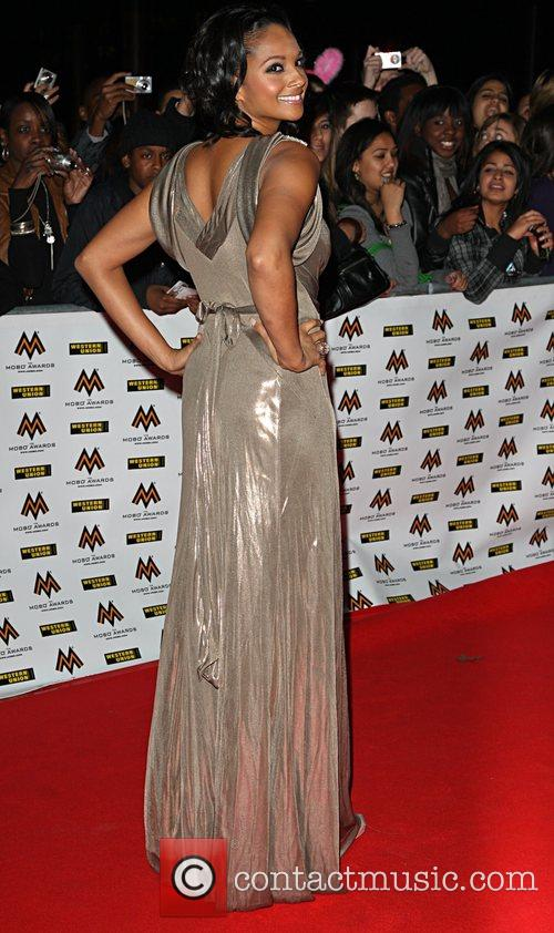Alesha Dixon The MOBO awards 2008 - arrivals...