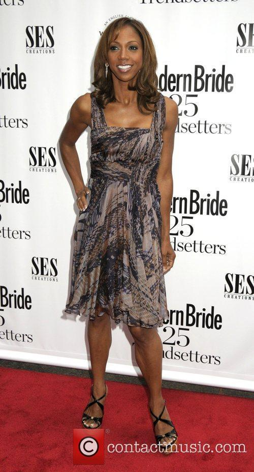 At Modern Bride's '25 Trendsetters of 2009' Awards...
