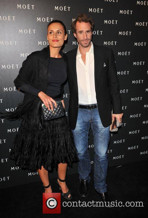 Guest and Joseph Fiennes Moet & Chandon: A...
