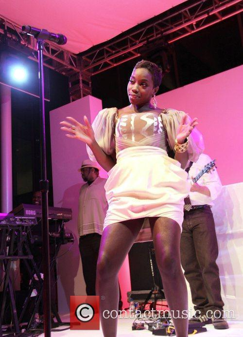 Estelle Performing On Stage 2