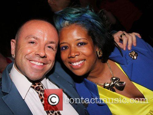Kelis and Her Friend Damion 1