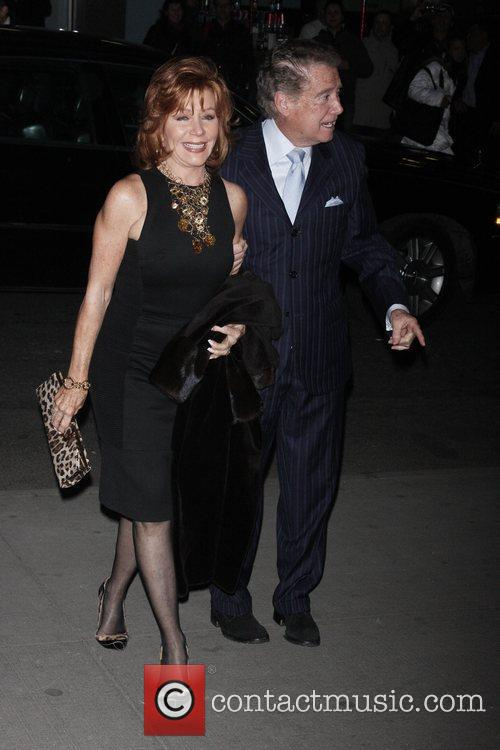 Joy Philbin and Regis Philbin New York Premiere...
