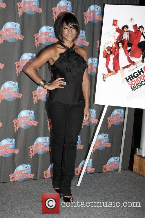 Monique Coleman makes an appearance at Planet Hollywood...