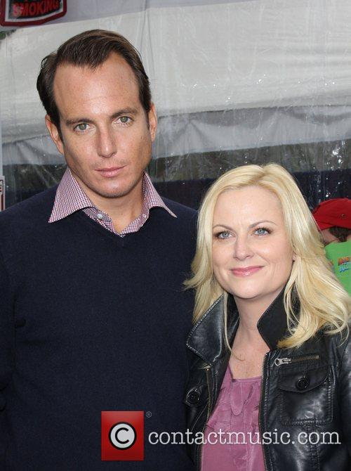Will Arnett, Amy Poehler Los Angeles premiere Monsters...