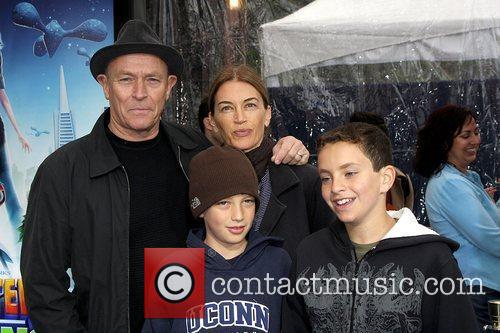 Corbin Bernsen and Amanda Pays with their sons...