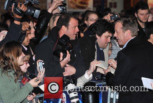 Kiefer Sutherland UK premiere of 'Monsters vs. Aliens'...