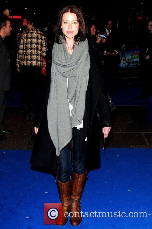 UK premiere of 'Monsters vs. Aliens' held at...