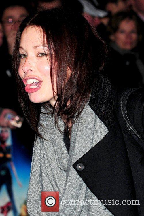 Abbie Eastwood UK premiere of 'Monsters vs. Aliens'...