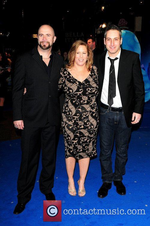 Guests UK premiere of 'Monsters vs. Aliens' held...