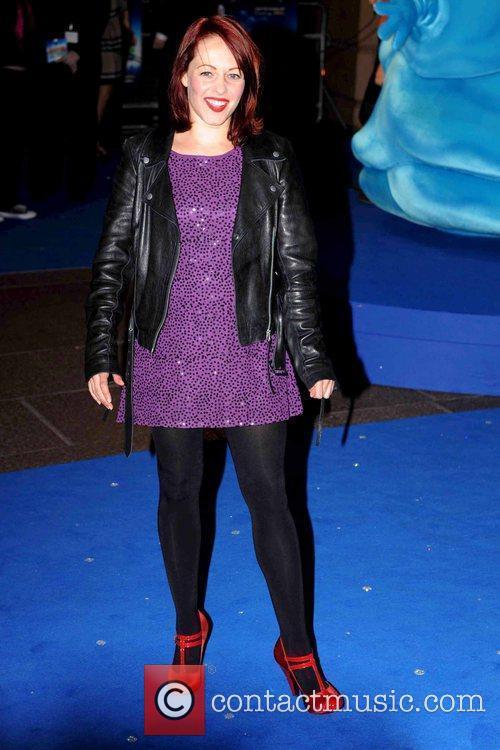 Sarah Cawood UK premiere of 'Monsters vs. Aliens'...