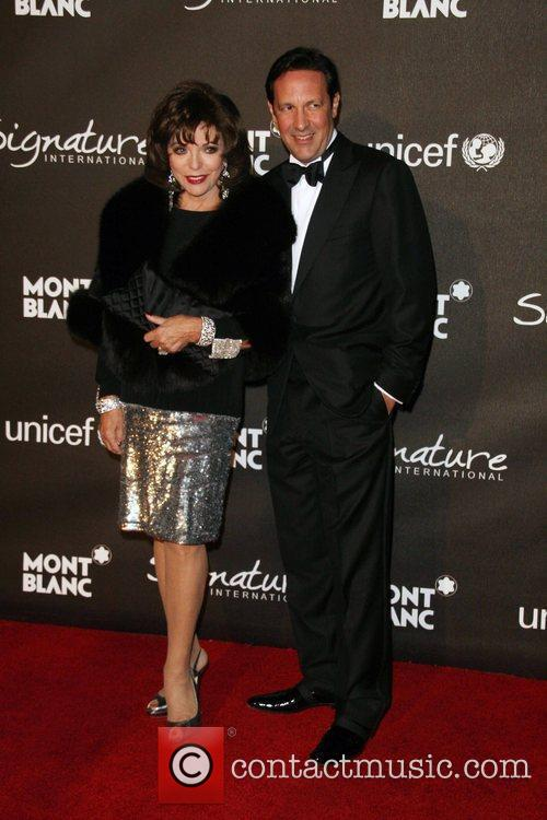 Joan Collins and Percy Gibson The Montblanc Signature...