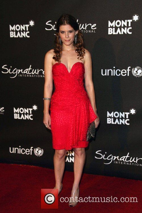 Kate Mara The Montblanc Signature for Good Charity...