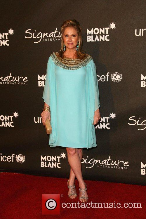 Kathy Hilton The Montblanc Signature for Good Charity...