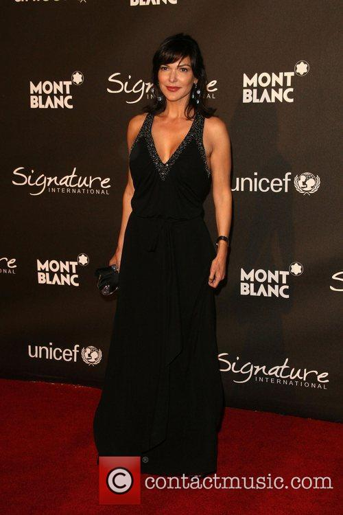 Laura Harring The Montblanc Signature for Good Charity...