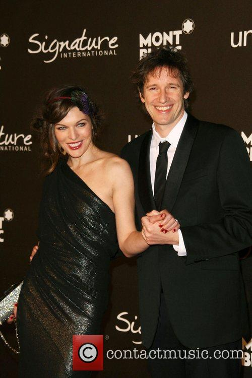 Milla Jovovich and Paul W.S. Anderson The Montblanc...