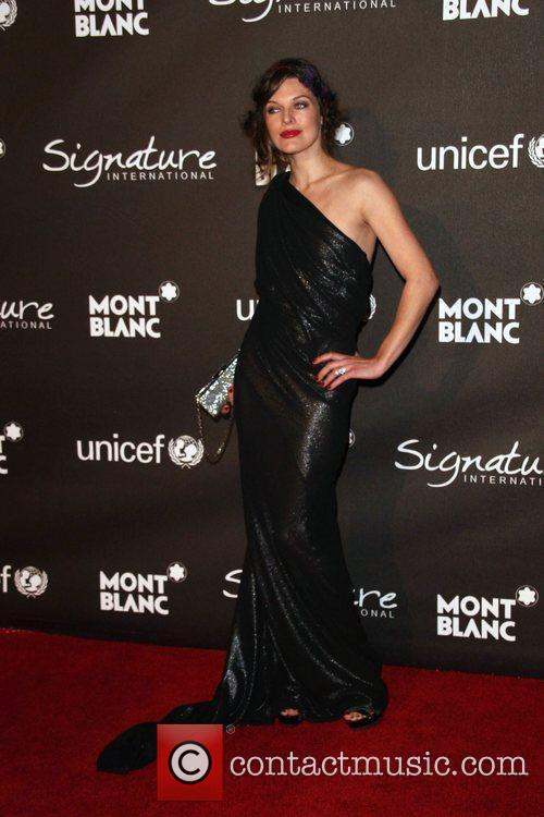 Milla Jovovich The Montblanc Signature for Good Charity...