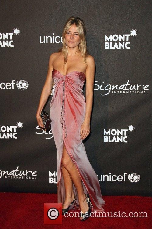 Sienna Miller The Montblanc Signature for Good Charity...