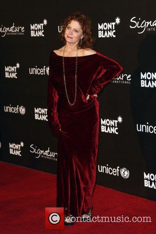 Susan Sarandon The Montblanc Signature for Good Charity...