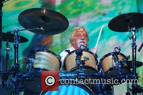 Graeme Edge The Moody Blues perform at the...