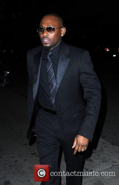 Billy Epps leaving Mr Chow restaurant Los Angeles,...