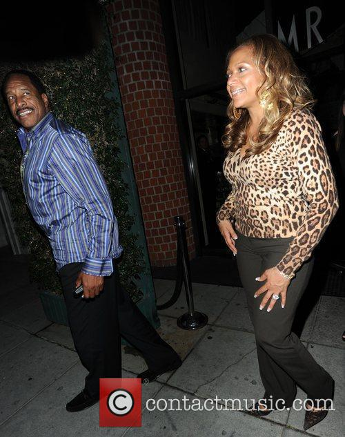 Dave Winfield and Tonya Winfield At Mr Chow 2