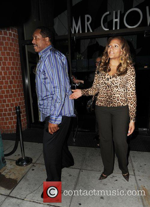 Dave Winfield and Tonya Winfield At Mr Chow 4